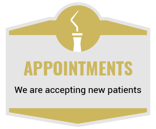 Appointments - We are accepting new patients